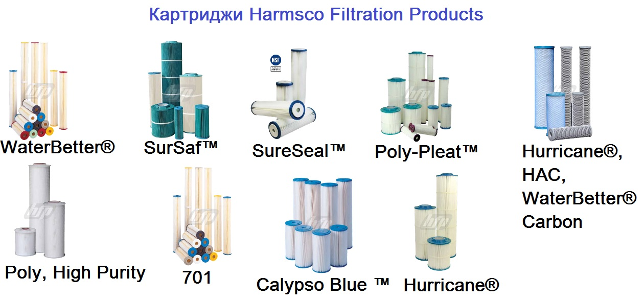 Картриджи Harmsco Filtration Products